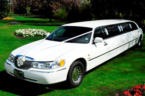 Our limo hire vehicle